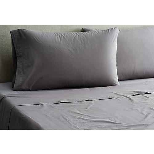 Nap Sheet Set, Coal