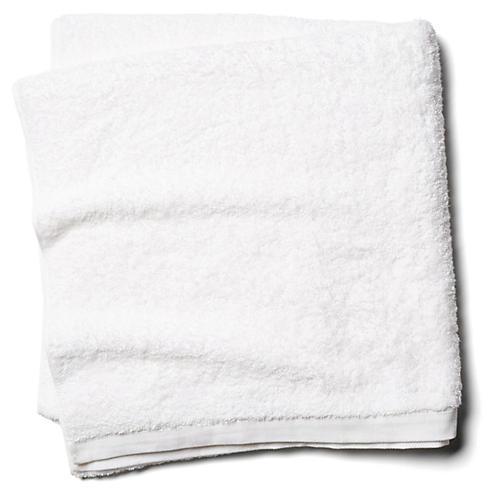 Riviera Bath Sheet, White
