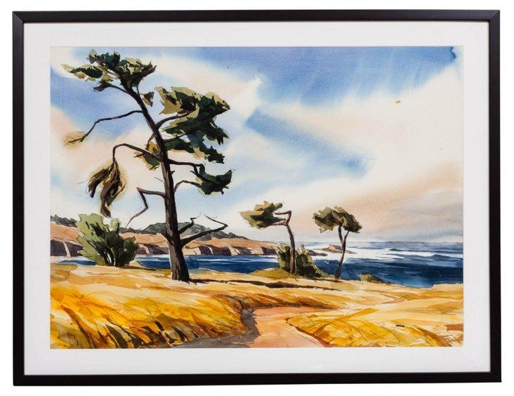 Larry Iwerks Watercolor