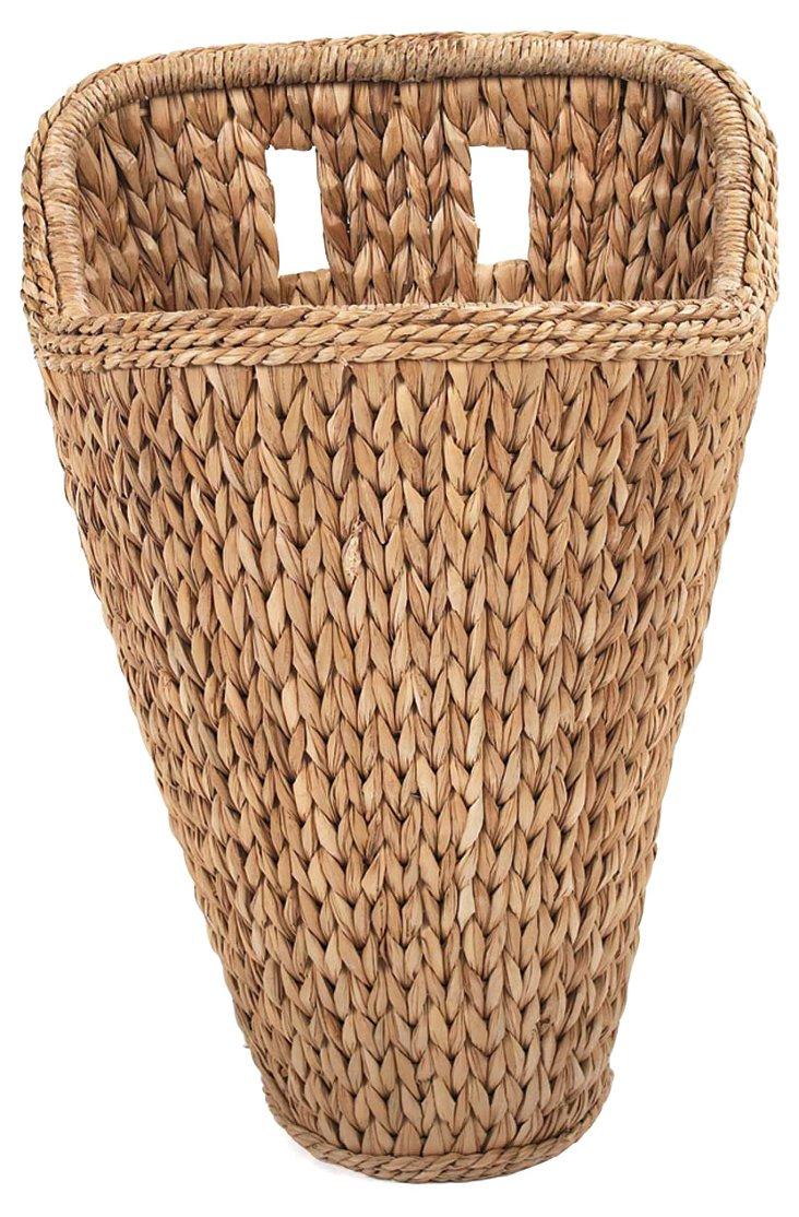 Sweater-Weave Wall Basket