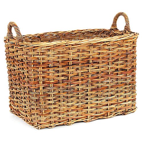 French Country Storage Basket, 21""