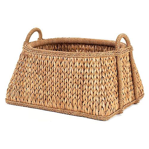 """Sweater-Weave Melon Basket, 22"""""""