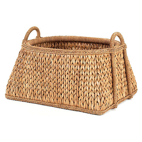 Sweater-Weave Melon Basket, 22""