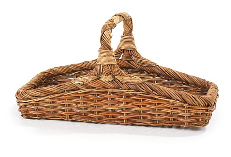 French Country Wildflower Basket, 29.5