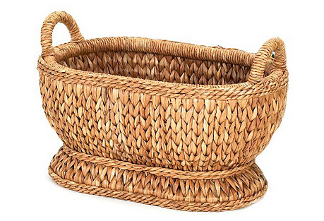 Sweater-Weave Oval Compote, 19