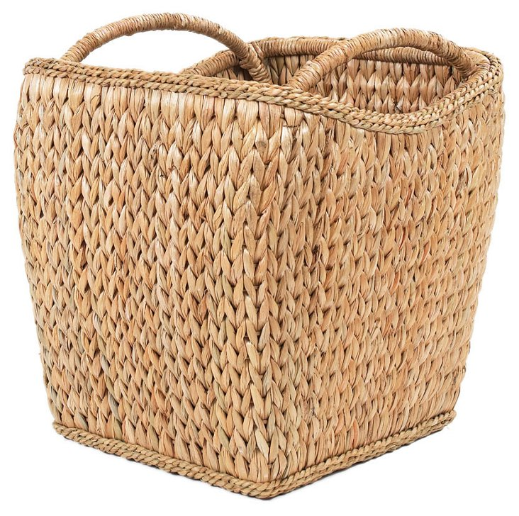 """Sweater-Weave Basket, 20"""""""