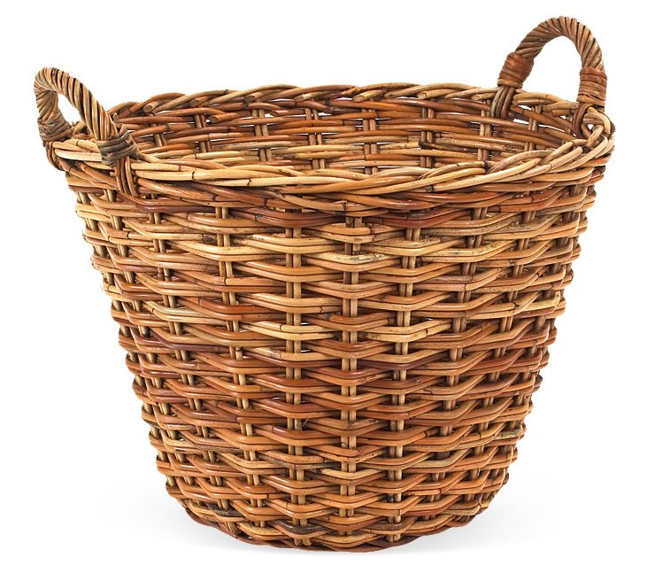 "20"" French Country Round Basket"