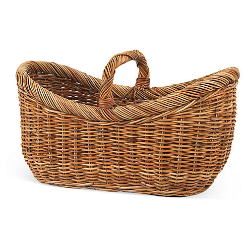 Country Yarn Basket, 26""