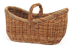"Country Yarn Basket, 26"""