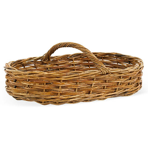 Moroccan Rectangle Basket