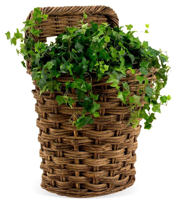 Rustic Wall Basket