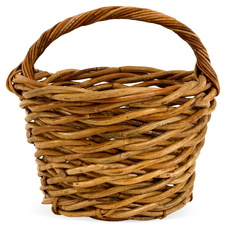 Provence Farmer's Basket w/ Handle