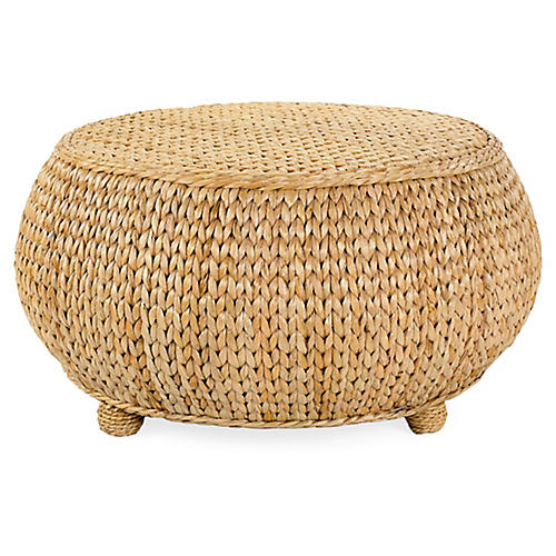 Sea-Grass Coffee Table, Natural