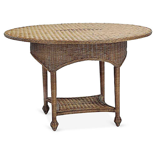 Eastern Shore Game Table, Chestnut