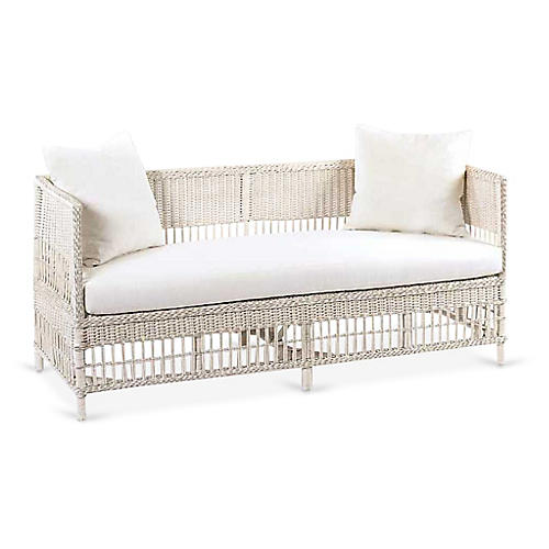 Vineyard's Daybed, Antiqued White