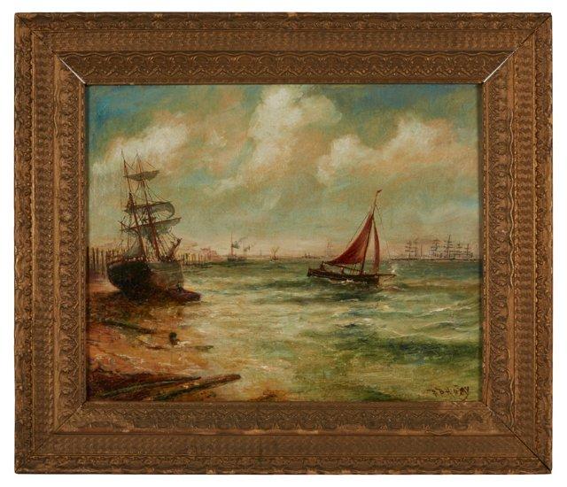 Antique Dutch Oil Painting