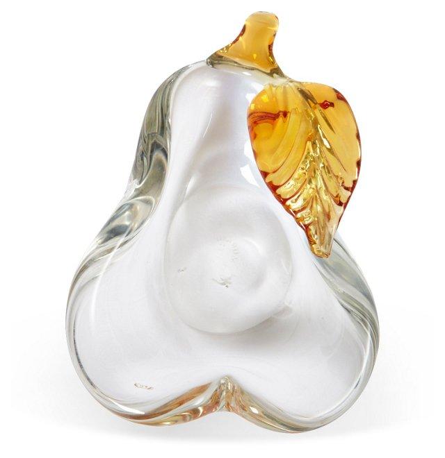 Venetian Art Glass Pear
