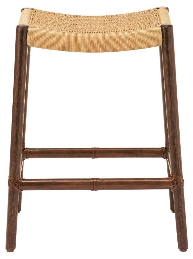 Nagoya Counter Stool, Tobacco