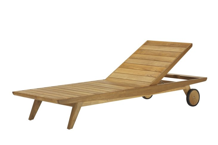 Axial Outdoor Chaise Longue