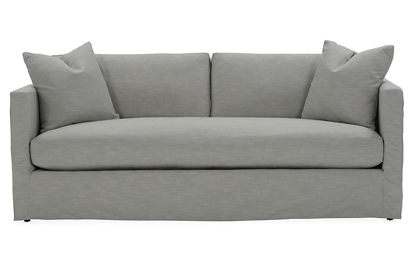 Shaw Bench Slipcover Sofa
