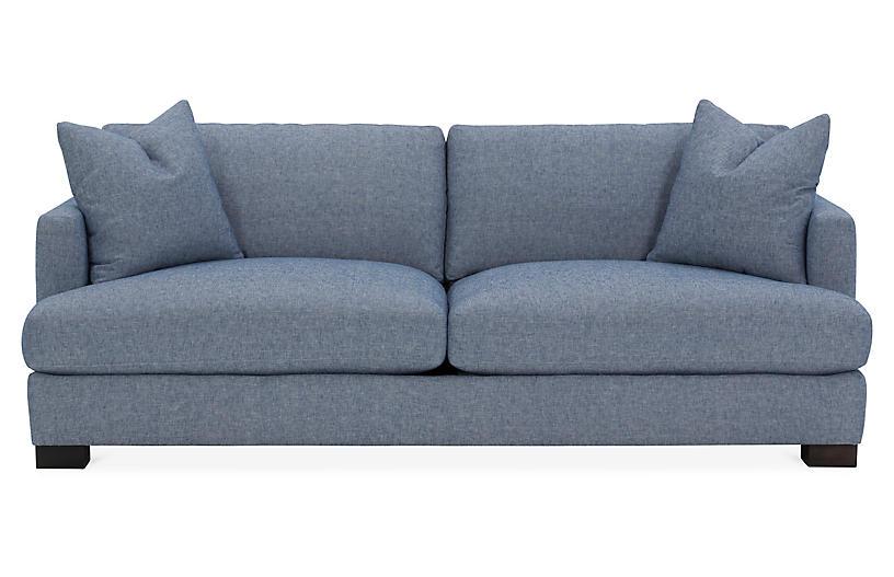 Astonishing Hudson Sofa Chambray Bralicious Painted Fabric Chair Ideas Braliciousco