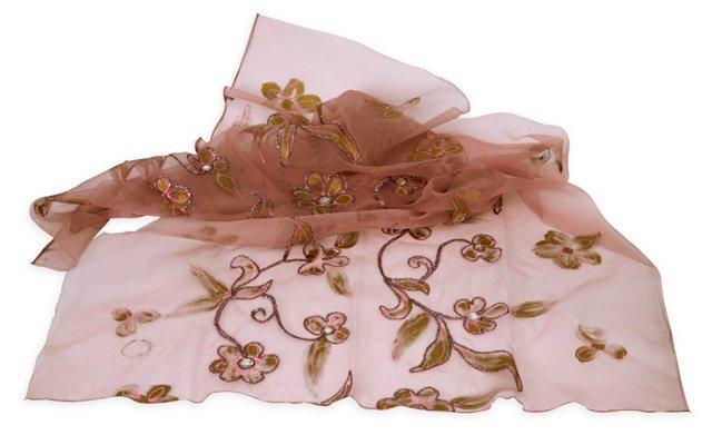 Pinks & Tinsel Decorative Textile