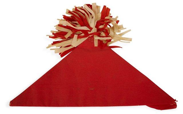 Pompom Paper Party Hat