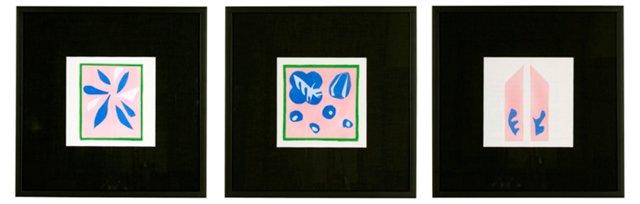 Matisse Framed Stencils, Set of 3