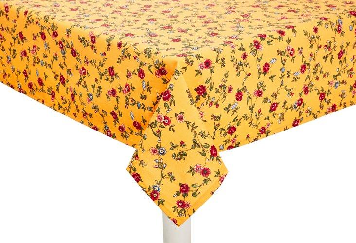 Paradou Tablecloth, Yellow