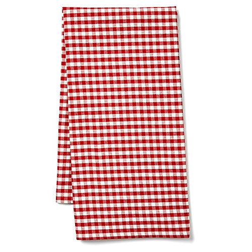 Vichy Tea Towl, Red