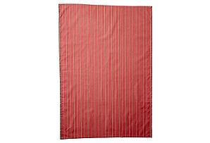 Stripe Tea Towel, Red*
