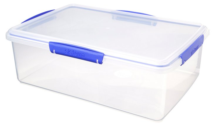 S/2 Rectangular Containers, 7L