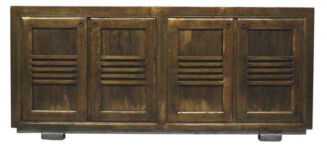 Marley 4-Door Tall Sideboard, Bronze