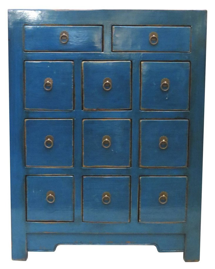 Tricia Chest of Drawers, Blue