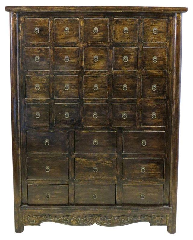 Alfreda Cabinet, Gold