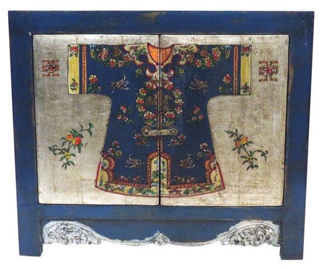 Kimono Collection Cabinet, Blue