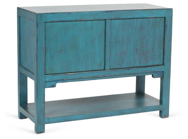 """Mirl 43"""" Sideboard, Turquoise"""
