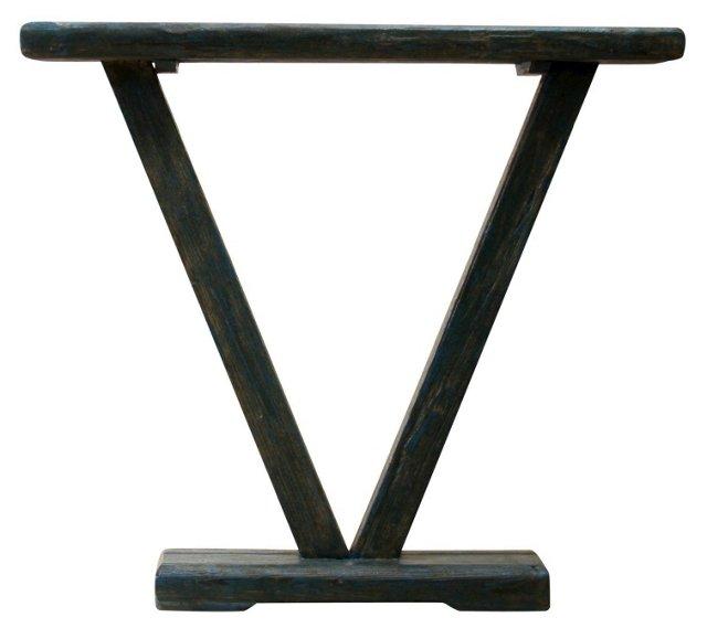 Nile Side Table, Blue