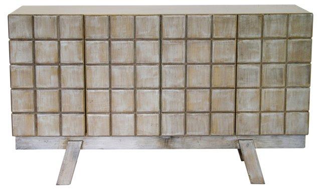 Gray Tall Sideboard, Gray