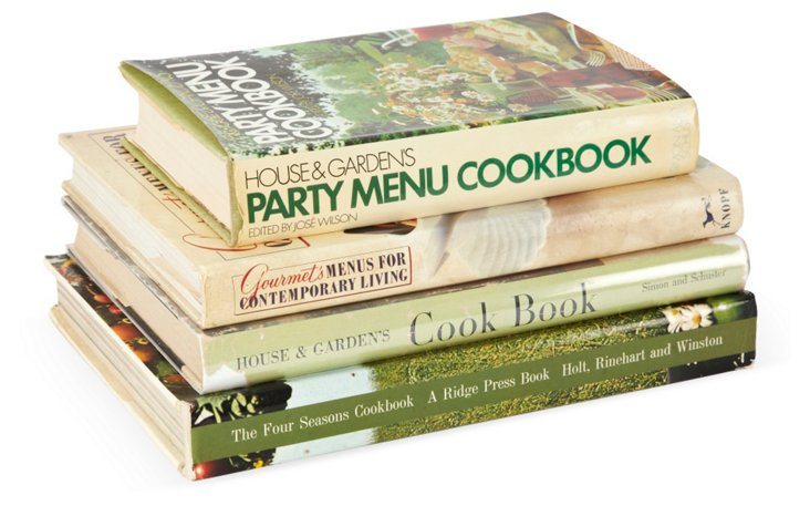 Collection Of 4  Cookbooks