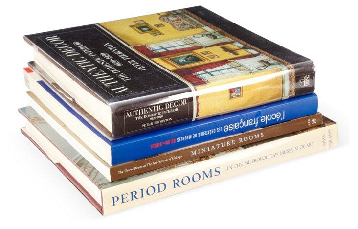 Historical Design Books, Set of 4