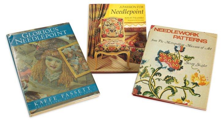 Needlepoint Books, Set of 3