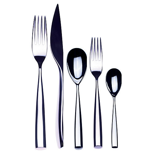 5-Pc Forma Place Setting, Silver