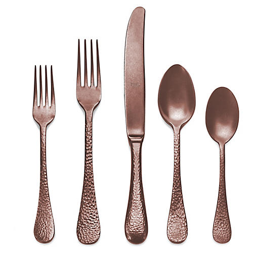 5-Pc Epoque Place Setting, Brown