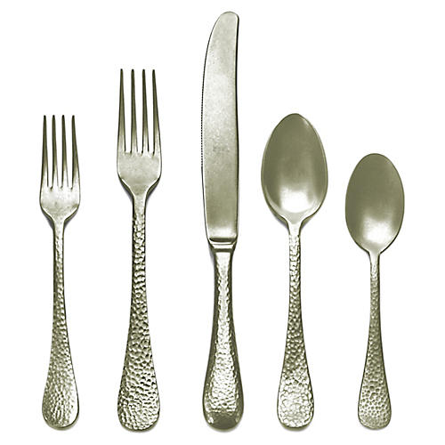 5-Pc Epoque Place Setting, Champagne