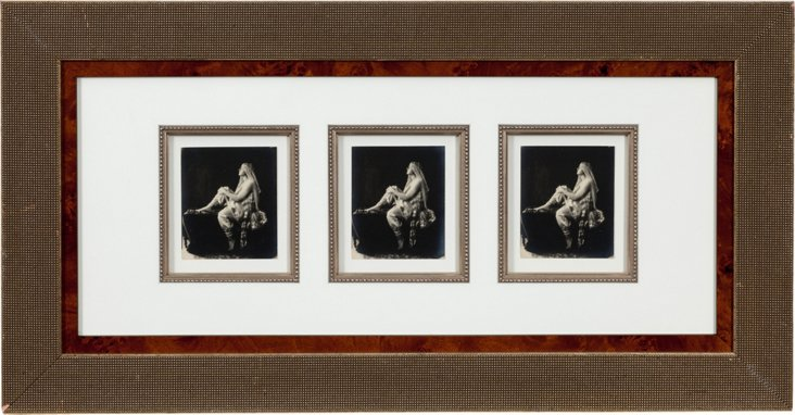 Hollywood Actress Triptych
