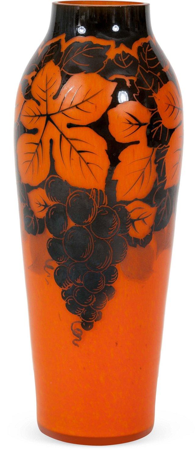 Czech Glass Vase