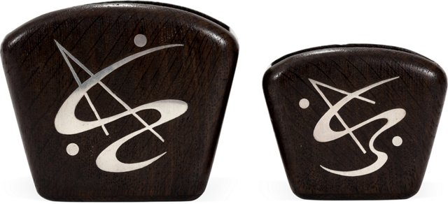 Sterling Inlay Containers, Set of 2