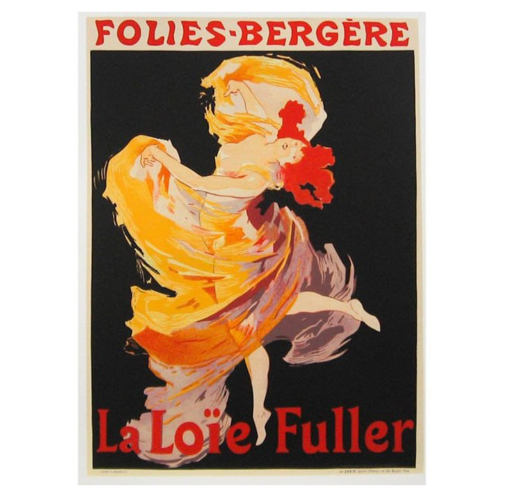 Cappiello, La Loïe Fuller