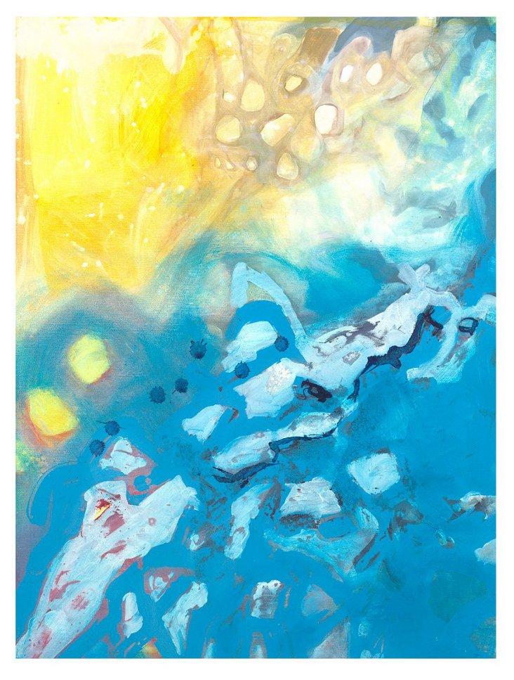 Deb Haugen, Sand 'n' Sea, Canvas